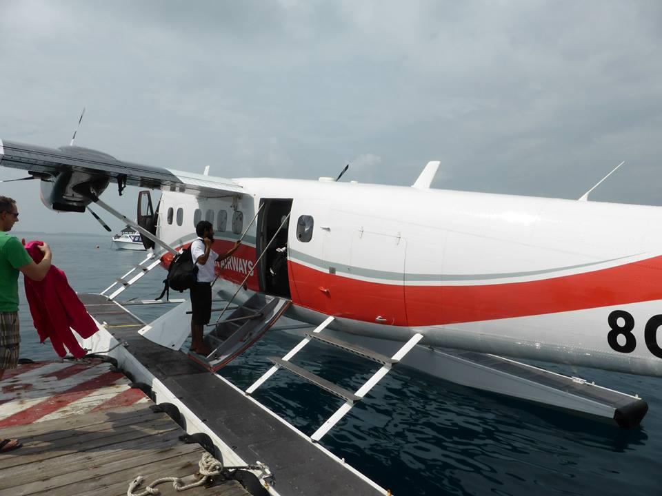 Sjøfly Maldivene